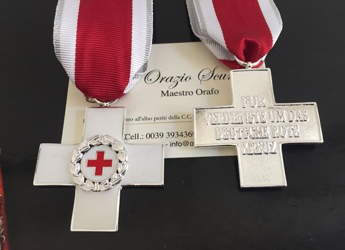 Medaglia German Red Cross di II classe ( silver )